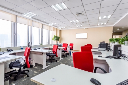 How can human behaviour be influenced by workspaces?