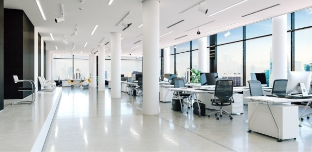 What are the important factors to check while choosing an office space?