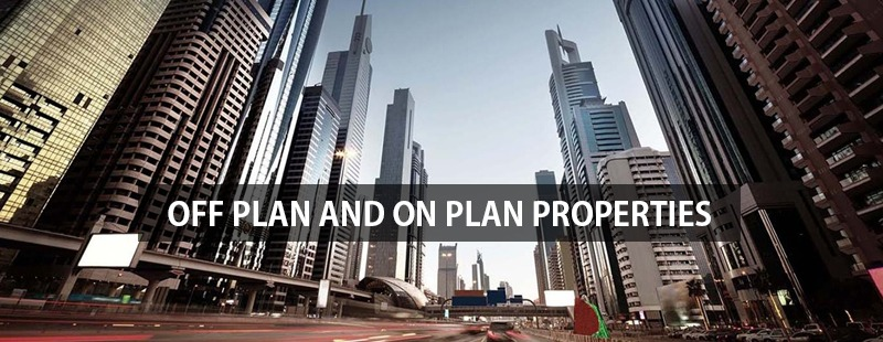 what is on plan and off plan properties?