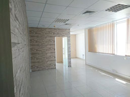 Fully Fitted office with decor and partition / ready to occupy immediately at a very low price / Al Qusais